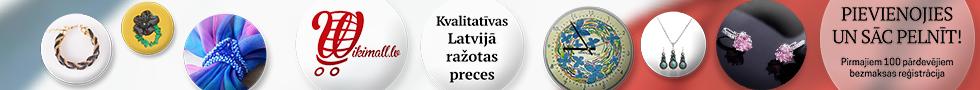 Tikai labākās Latvijā darinātās preces