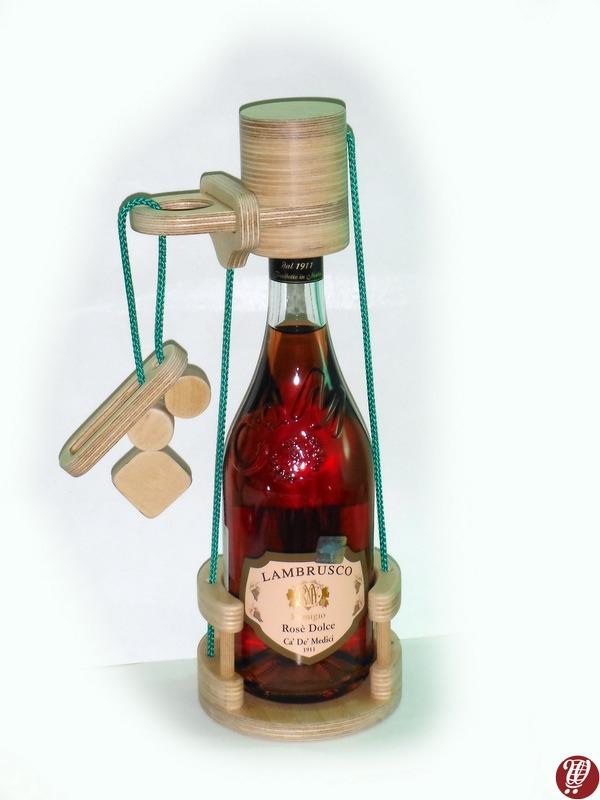 Šampānieša pudeles saslēgs
