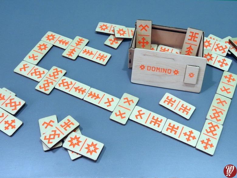 Domino orange 36